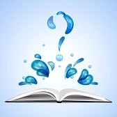 19858630-water-question-mark-over-open-book[1]