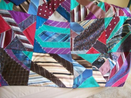Necktie Quilt 2